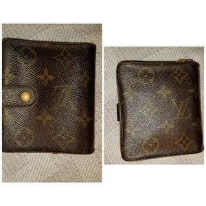Classic Louis Vuitton Kisslock Wallet